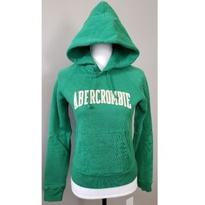 Abercrombie & Fitch Fitted Logo Sweatshirt